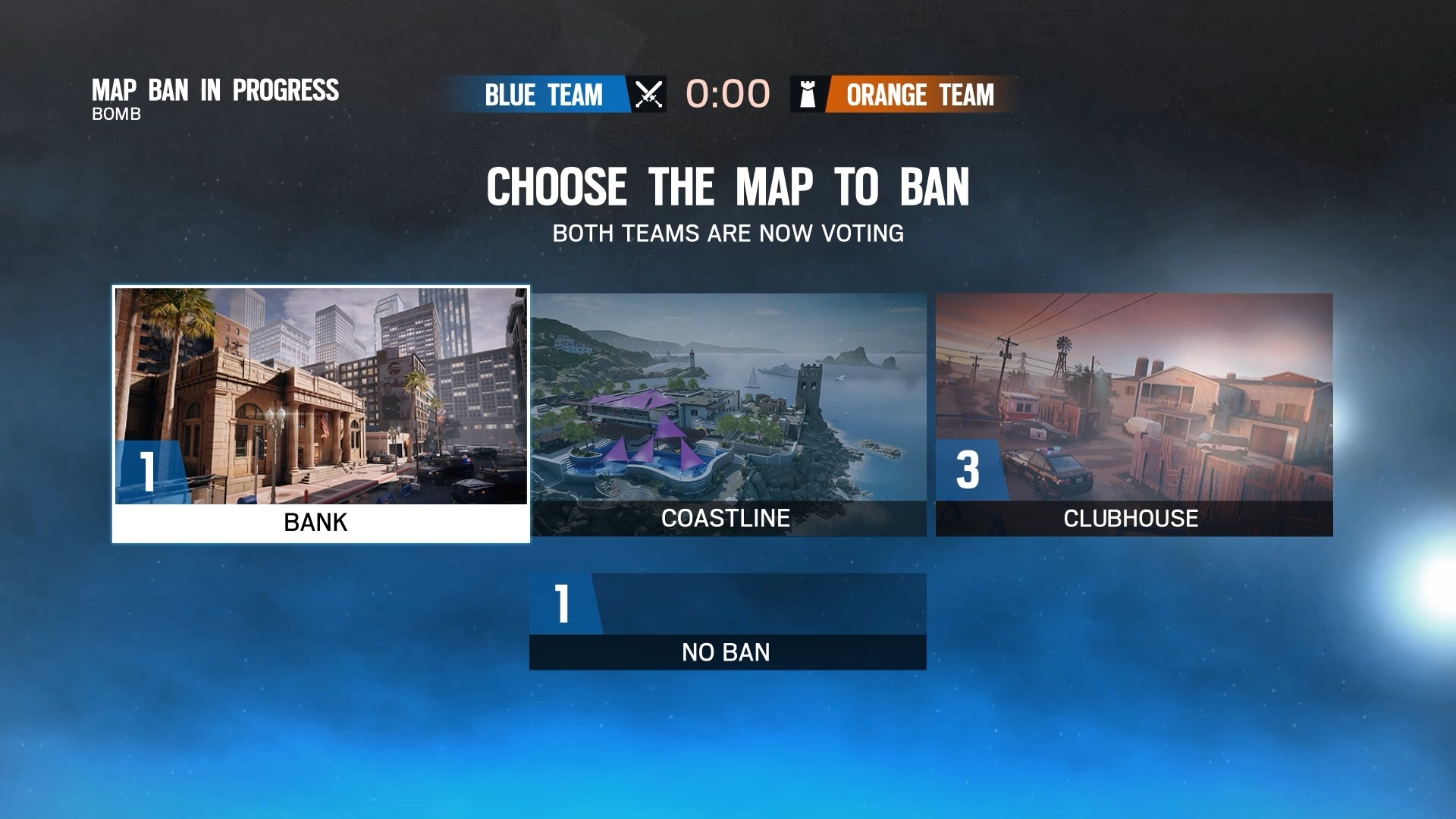Rainbow Six Siege Maps Ban