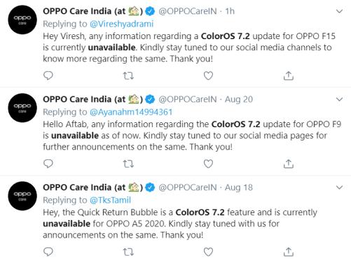 ColorOS 7.2 Availability
