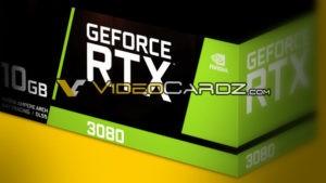 NVIDIA GeForce RTX 3080, Courtesy: VideoCardz