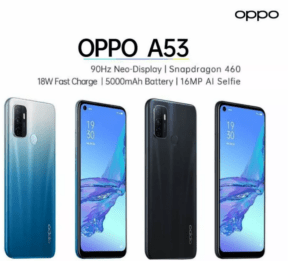 OPPO's A53 with Snapdragon 460 SoC in flesh
