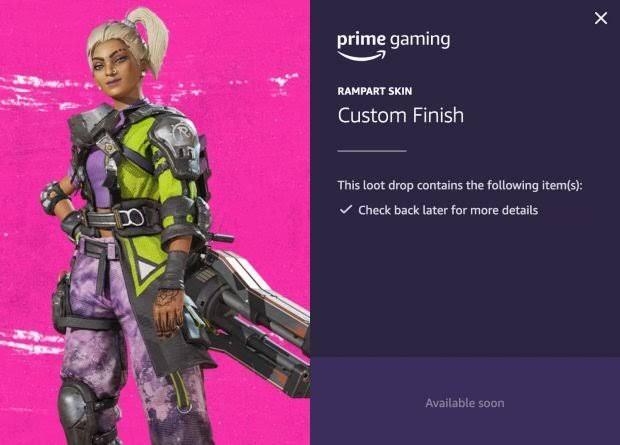Twitch Prime Rampart Skin