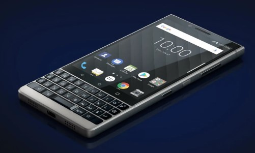 BlackBerry phones are back, baby