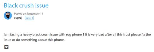 ROG Phone 3 black crush