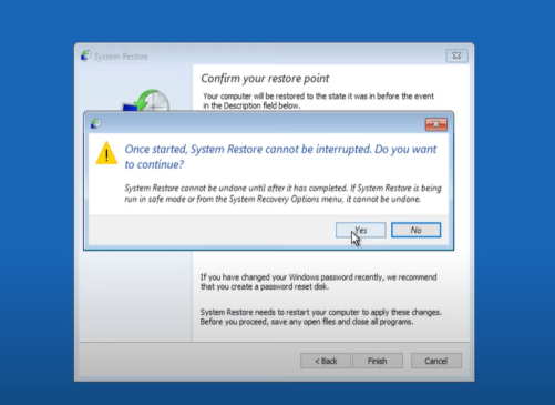 System Service Exception Windows Error