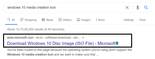 Fix Error 0x80300024