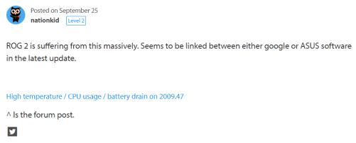 ROG Phone 2 battery drain
