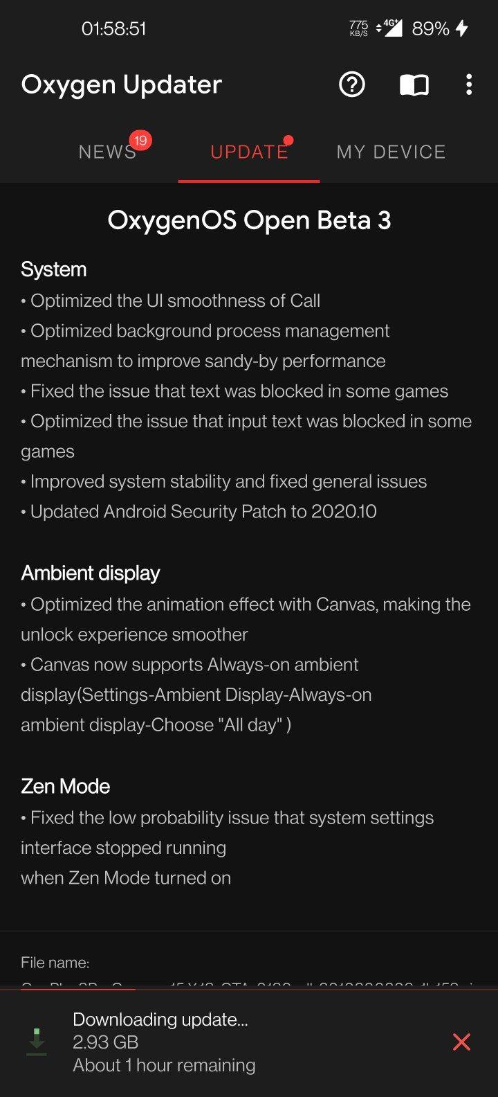 OnePlus OOS 11 Update
