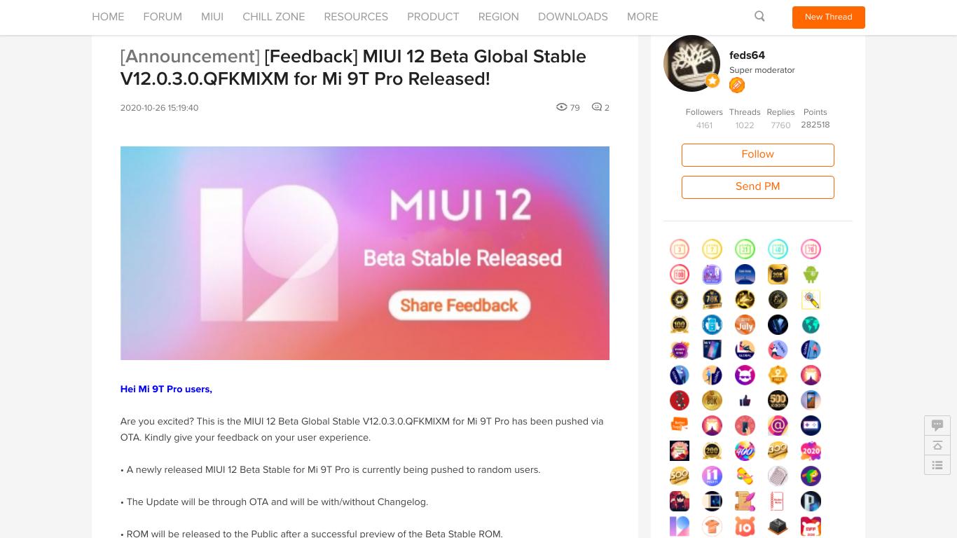 MIUI 12 Mi 9T Pro