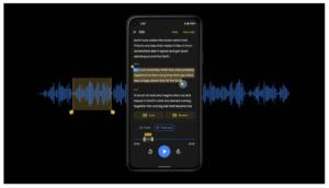 Audio Editing feature in Google Recorder 2.0