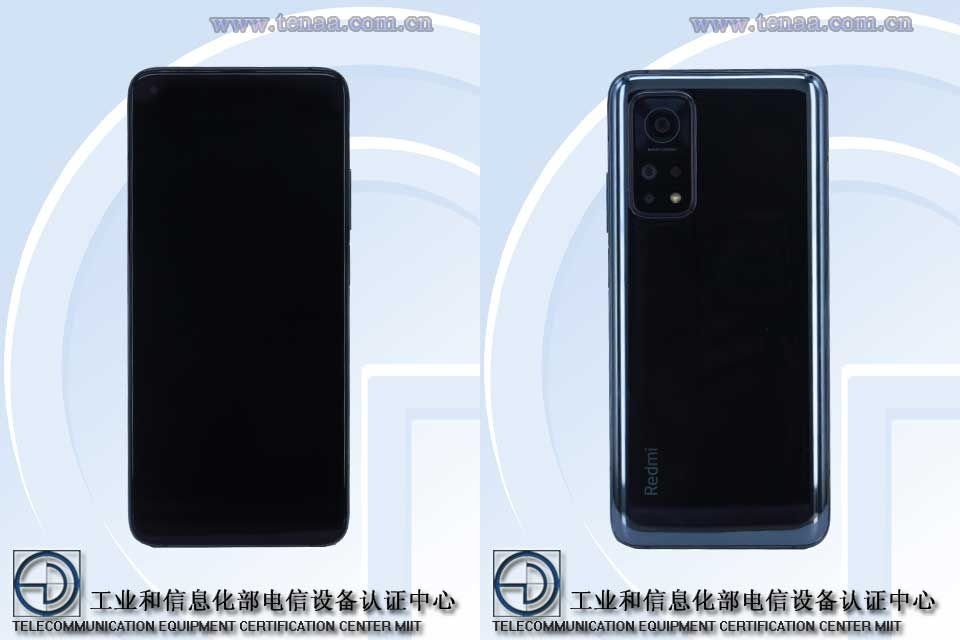 Redmi K30s full specifications and renders spotted on TENAA