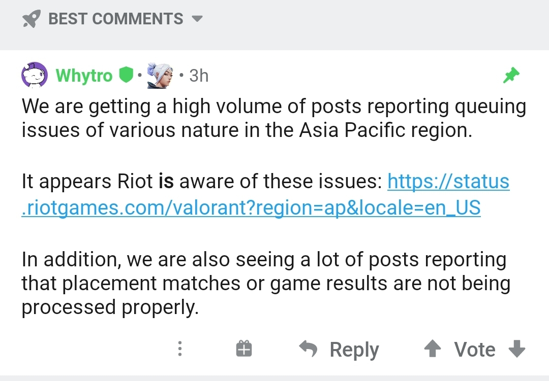 Valorant: APAC servers glitched & other bugs