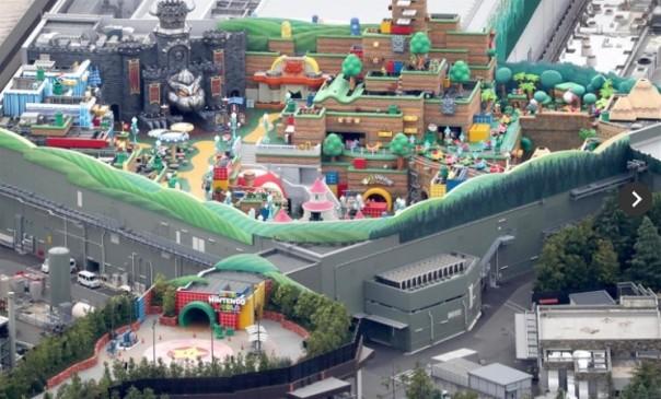 Nintendo Theme Park 2021
