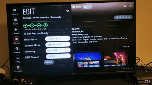 LG TV fix