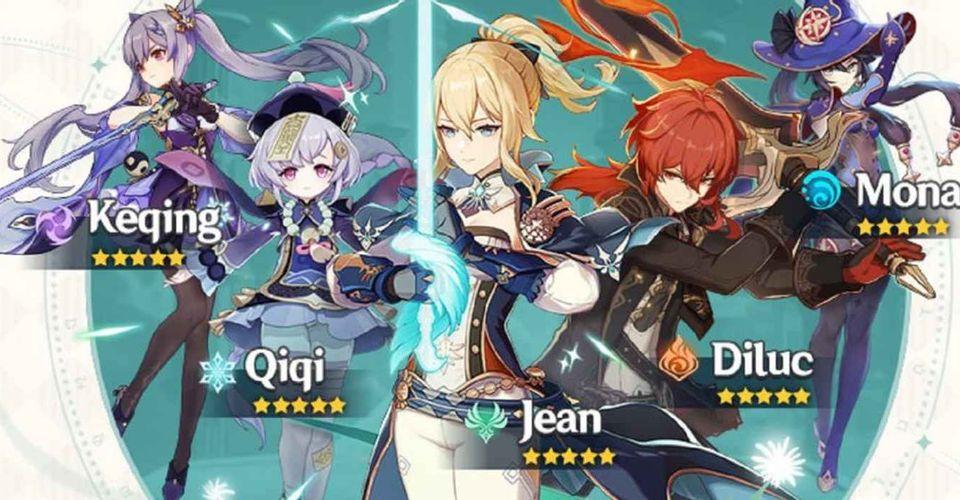 5-star character drop rate Genshin Impact