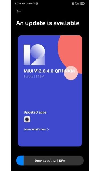 Redmi Note 7 Pro update