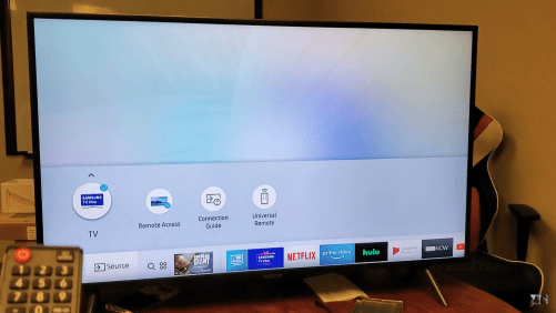 Samsung broadcasting issue