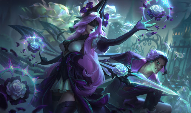 Withered Rose Syndra Skin PBE Patch 11.3 LoL
