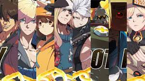 A Glimpse of Guilty Gear Character roster