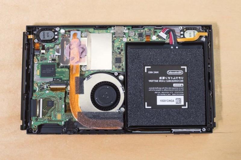 Circuit teardown for better understanding of Nintendo Switch overheating issue
