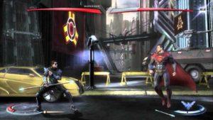 Injustice: Gods Among Us gameplay