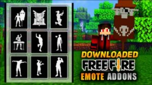 How to Download Free Fire Emotes in Minecraft PE?