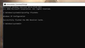 Command Prompt Flush DNS Source: PCMag