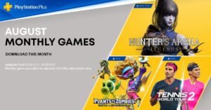 PS4 PSN games