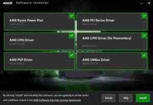 AMD Power Plans
