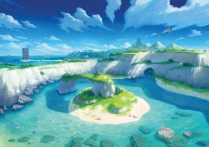 Pokemon Sword and Shield island