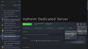 Valheim Dedicate Server Properties Source: PCGamesN
