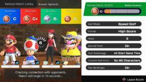 Mario Golf Update