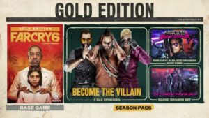 Far Cry 6 Standard Edition, Gold Edition, Ultimate Edition, Collector's Edition details