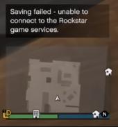 Saving Failed