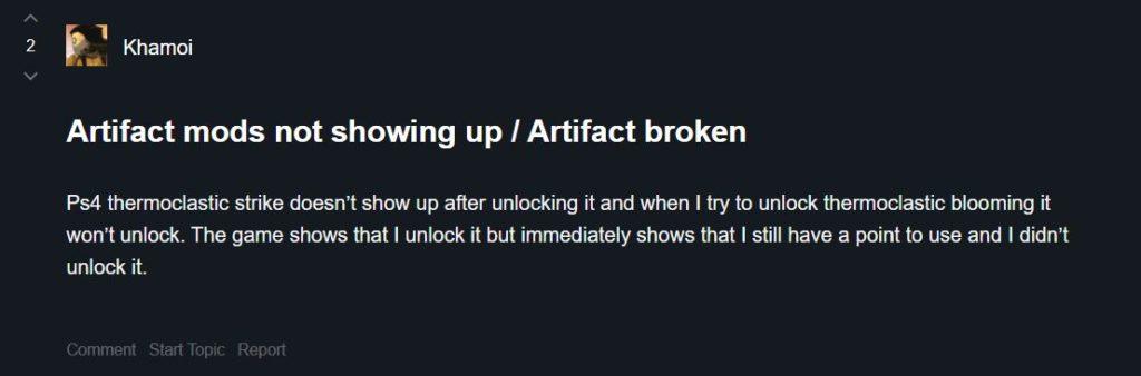 Artifact Forum