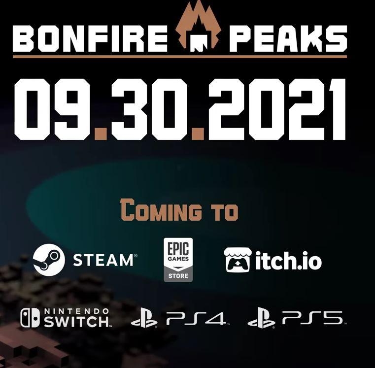 Bonfire Peaks platforms