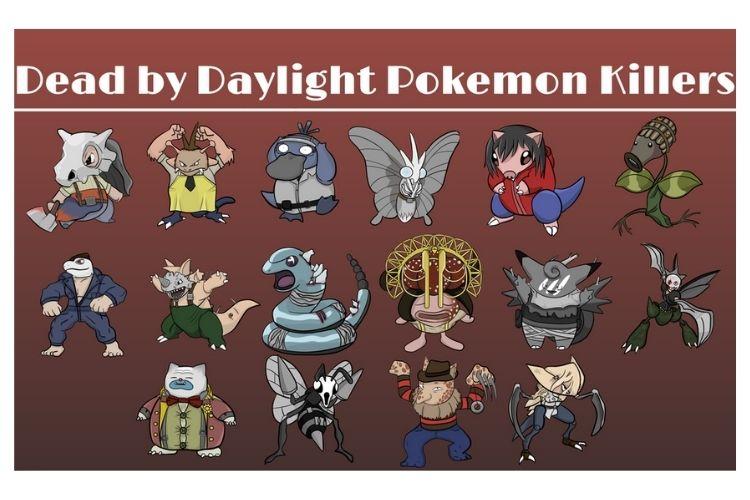 Dead By Daylight Pokemon Crossover