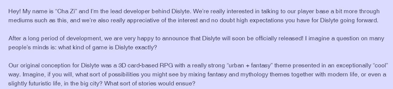 Dislyte News