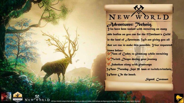 New World Connection Registration Error
