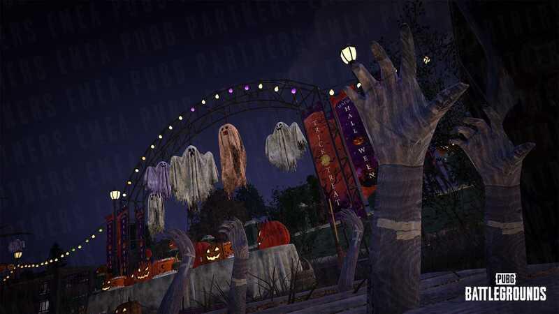 PUBG Halloween Update
