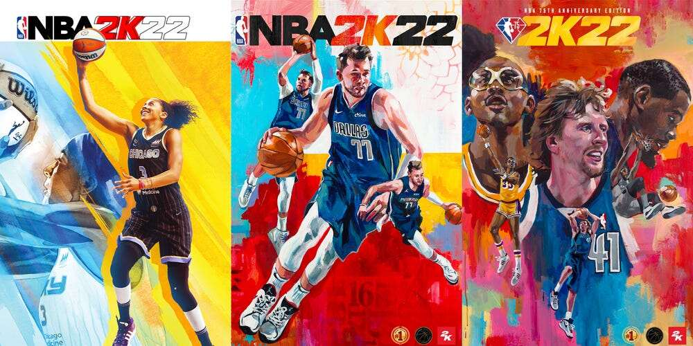 NBA 2K22 Editions