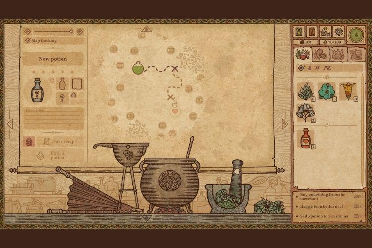 Potion Craft Expand Recipe Book