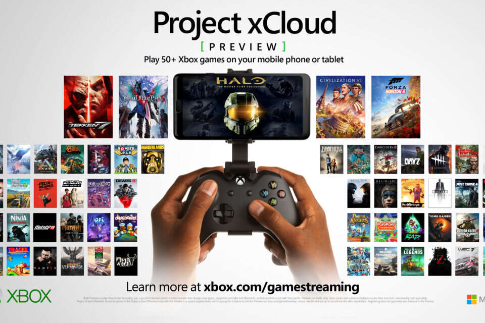 Microsoft Project xCloud Preview