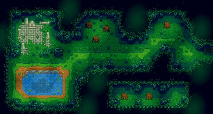Secret Woods Map