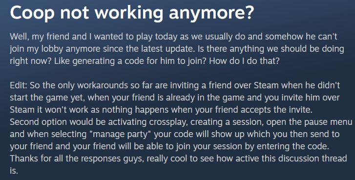 SnowRunner Co-Op Issue