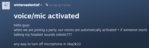 Steam comments