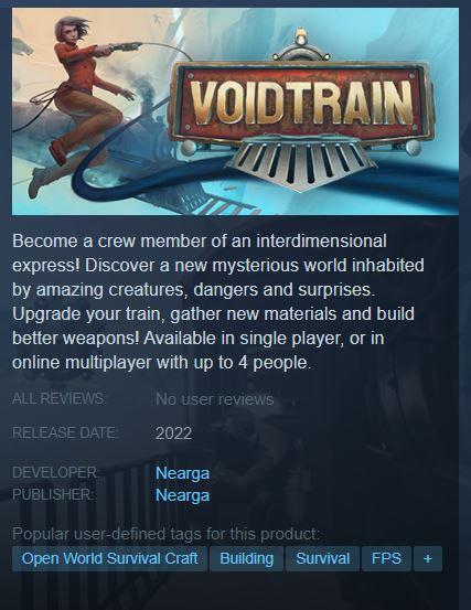 Voidtrain Steam
