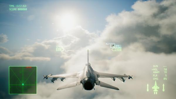 Ace Combat 7 flight