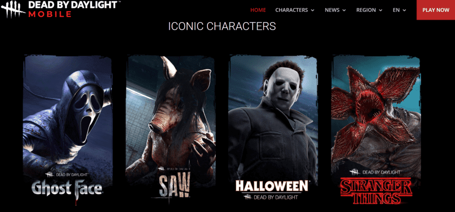 Dead by Daylight characters