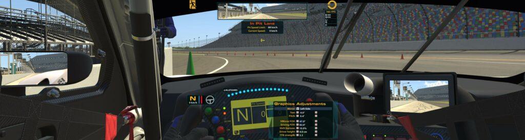 iRacing cockpit