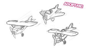 Adopt Me Plane